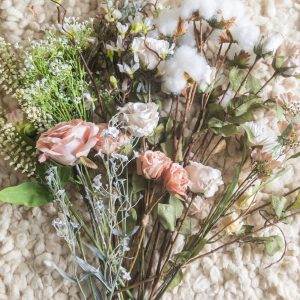 how to use faux flowers in your wedding and save money