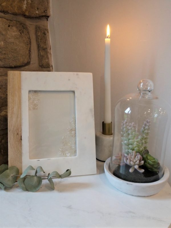 Photo frame and Planetarium and candle holder