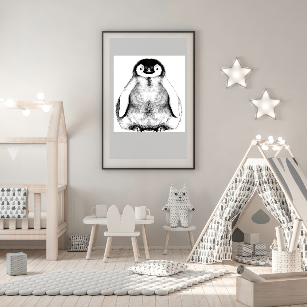 penguin in nursery