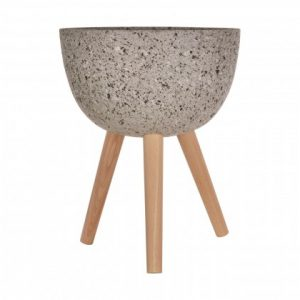 The large stone effect Darell PLanter is perfect for filling those corners and adding a splash of green. Works really with Dracena's